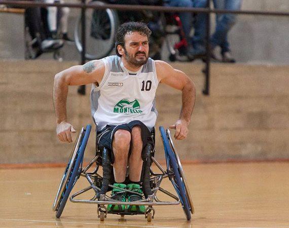 Damiano Airoldi, campione basket carrozzina palosco, palosco